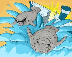 Oh the Hu-Manatee!!! by chanchimi