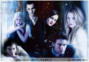 Gossip Girl by LauraRodriga