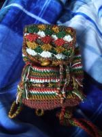Crochet bag by happyshiz