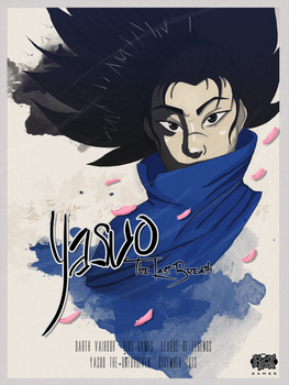Yasuo, The Unforgiven (concours) by DarthVaihdor