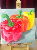 bell peppers by Heersch
