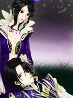 Cao Pi x Zhen Ji by InfinityTingTing