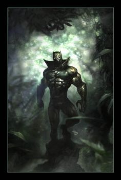 Black Panther by Dave-Wilkins