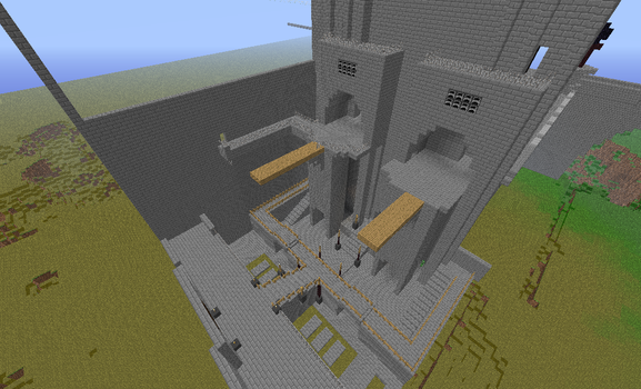 Ico Castle in Minecraft 8 by psycho-pigeon