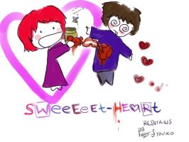 sweeeet heart by redstains