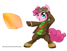 24-Hour Art Mare-a-thon: Pinkienaut by Dembai