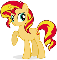 Sunset Shimmer by Shizow