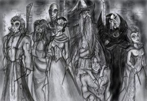 Sketch - A few OOTP members by zorm