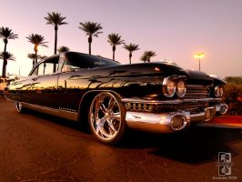Black 59 Caddy by Swanee3