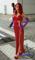 Jessica Rabbit Romics Ottobre 2014 by albeseba