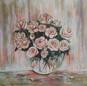 Bouquet of roses by Hellvetti