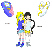 Oc Digimon Frontier : Best Friends by Phuong09