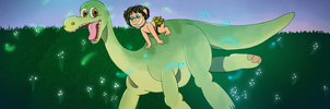 The good dinosaur Entry by JubiIee