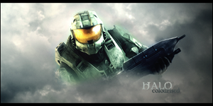 Halo Colourised by pulse36