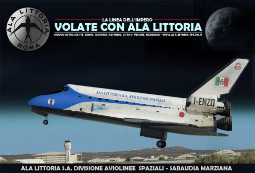 Ala Littoria Space Shuttle by db120