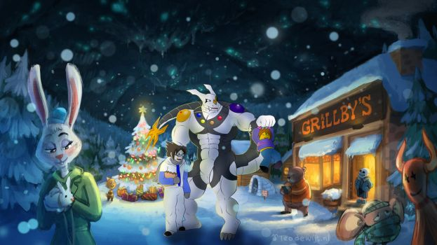 Commission 41 - Walk in the snow by B12A