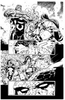 New Gods By Paulo Siqueira inks Curiel by lobocomics