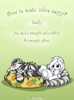 Pineapple pillow by Ashley-Arctic-Fox