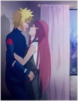 Minato x Kushina: Kiss in the night by Tobari21