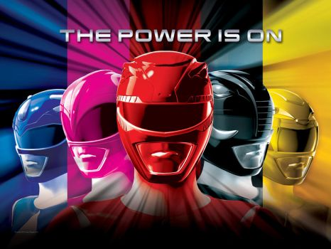 Saban Power Rangers Wallpaper by scottasl