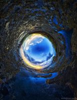 The Blue Tunnel by SaiogaMan