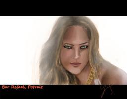 Bar Refaeli Potrait by Johny-Kun