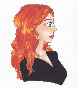 Lily Evans colour practice by Sugar-Kat