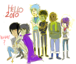 last art of 2009, decade by gorillaznoodle15