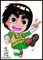 Rock Lee Chibi by LucasTsilva