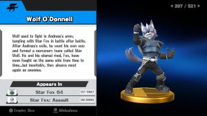 StarFox Trophies - Wolf O'Donnell by ObsessedGamerGal86