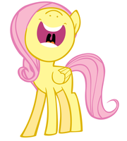 Singing Fluttershy by Liamb135