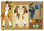 Official Tenya Reference by ThatAlbinoThing