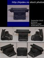 Typewriter Stock Package-Med by mercyop
