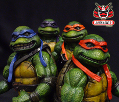 TMNT THE MOVIE 1990 REPAINT 19 by wongjoe82