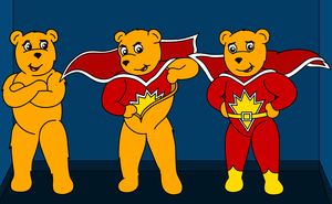 Superted's Transformation by Natter45