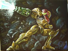 Samus Aran final by cliford417