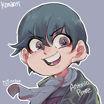 [Despicable ME] antonio perez by Kimanti
