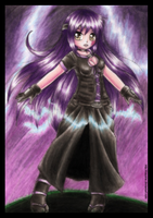 -- The power of lightning -- by Nay-Hime