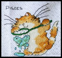Cattitude Horoscopes - Pisces by KezzaLN