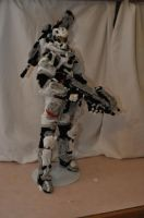 Pipe cleaner creations: Spartan blood wolf-534 by dp360