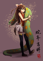 .: Happy Chinese New Year of the Snake :. by Hikari151
