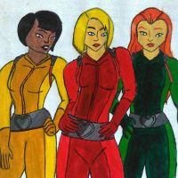 Totally Spies by aroybal1996