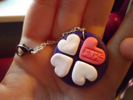 Muse Logo Keyring by delicioustrifle