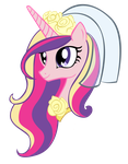 Princess Cadence Head by MintDonut