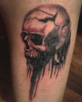 Skull Tattoo by AlejoHerreraEC96