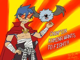 Champion Kamina by Selaphi