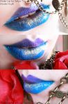RGB Red Golden Blue xD by SelyaMakeup