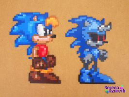 Jules Hedgehog Bead Sprite by SerenaAzureth