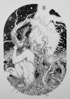Apollo and Daphne by BargaoanMS
