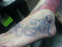 Ugly dolls foot piece 3 by Shipht